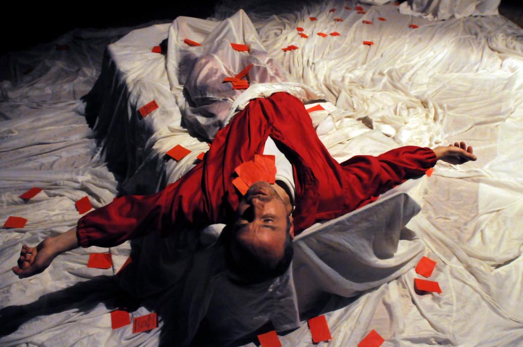 Abraxa Teatro - Massimo Grippa - L'Ultima Notte di Cesare Pavese
