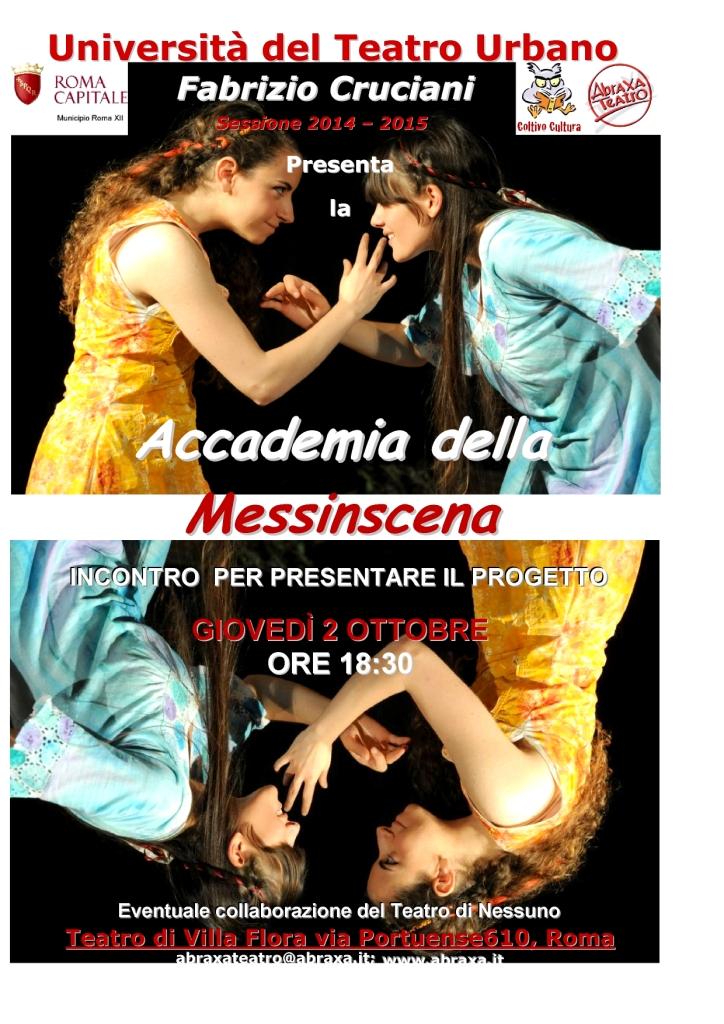 Accademia della Messinscena - anno accademico 2014-2015
