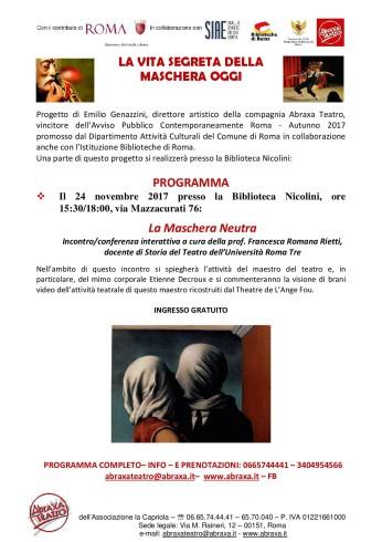 progettomaschera_programma_bibliotecanicolini